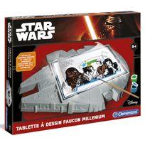 Clementoni - Star Wars - Table à Dessins Millennium Falcon