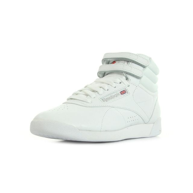 Reebok Freestyle high pas cher Achat Vente Baskets