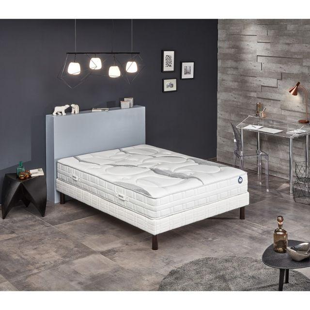 bultex ensemble nano pureness 160x200 blanc pas cher achat vente ensembles de literie. Black Bedroom Furniture Sets. Home Design Ideas