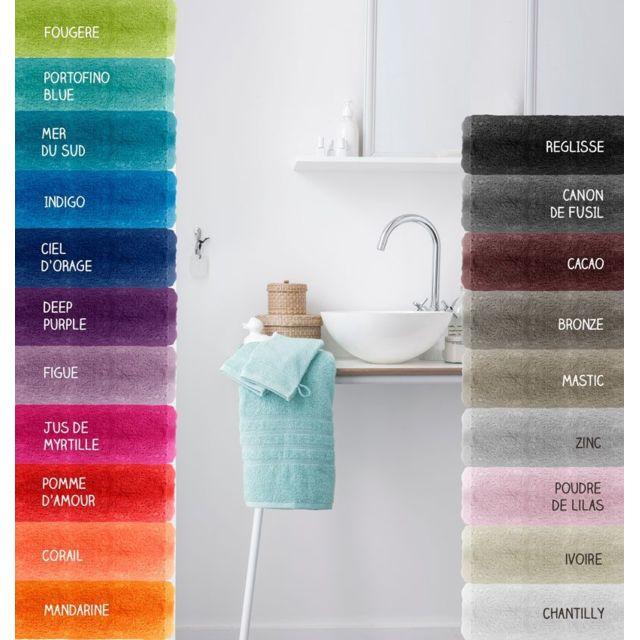 sans marque lot de 2 gants de toilette 500 gr m 16 x 21 cm today mandarine pas cher. Black Bedroom Furniture Sets. Home Design Ideas