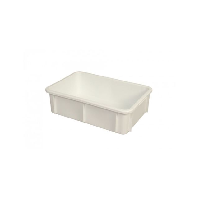 Gilac Bac Rectangulaire Empilable 25 Litres Blanc