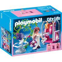 PLAYMOBIL - CITY LIFE - Top modèle avec tenue de mariée - 6155