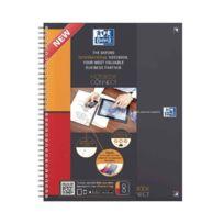 Oxford International - Bloc notebook connect à reliure intégrale 160 pages perforées détachables
