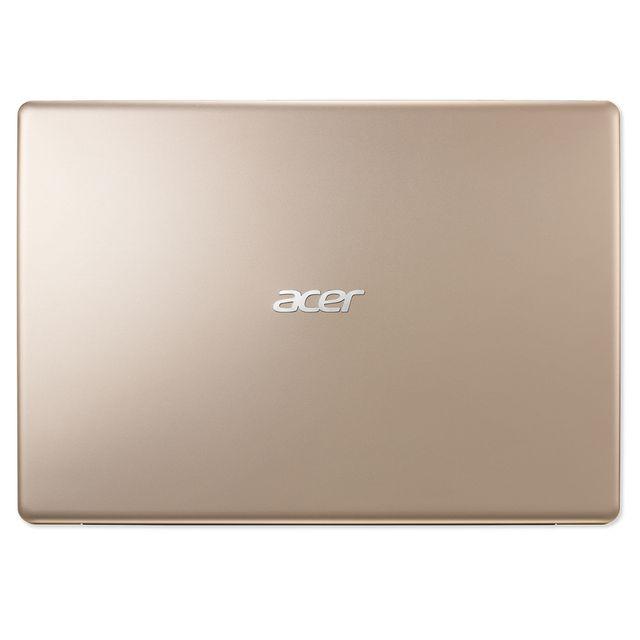 """ACER Swift 1 SF113-31-C74M - Bronze Ecran 13,3"""" Full HD LED (dalle mate) -Autonomie de 10h00 - Epaisseur 14,95 mm - Poids 1,3 kg -2 Haut-parleurs stéréo - Clavier chiclet AZERTY - Lecteur d'empreintes digitales - HDMI"""