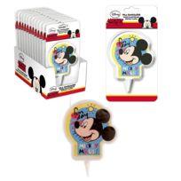 Bougie Disney Mickey Mouse 2d Gateau Anniversaire Fete Enfant 894
