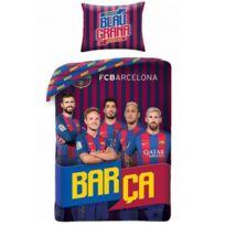 Home - Fc Barcelone Barça - Parure de lit Football Messi - Housse de Couette