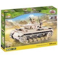 Cobi - Petite ArmÉE 2451, La Seconde Guerre, Char Moyen Allemand, Panzer Iii Ausf.J, 400 BÂTIMENTS De Briques Par