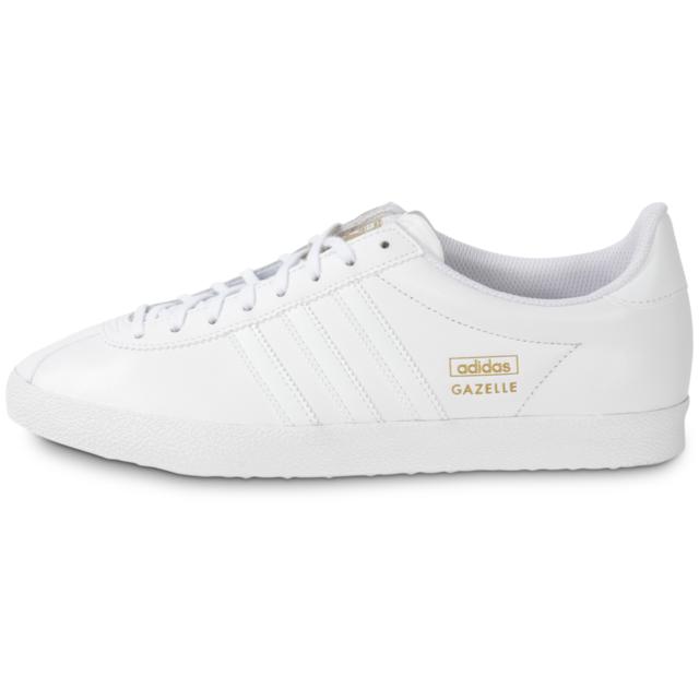 8906ba300b9 Adidas originals - Gazelle Og Cuir Blanc - Tennis - pas cher Achat ...