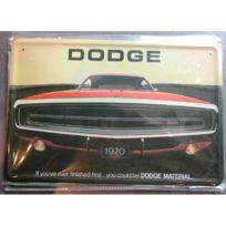 Universel - Plaque dodge charger 1970 tole deco garage metal pub affiche