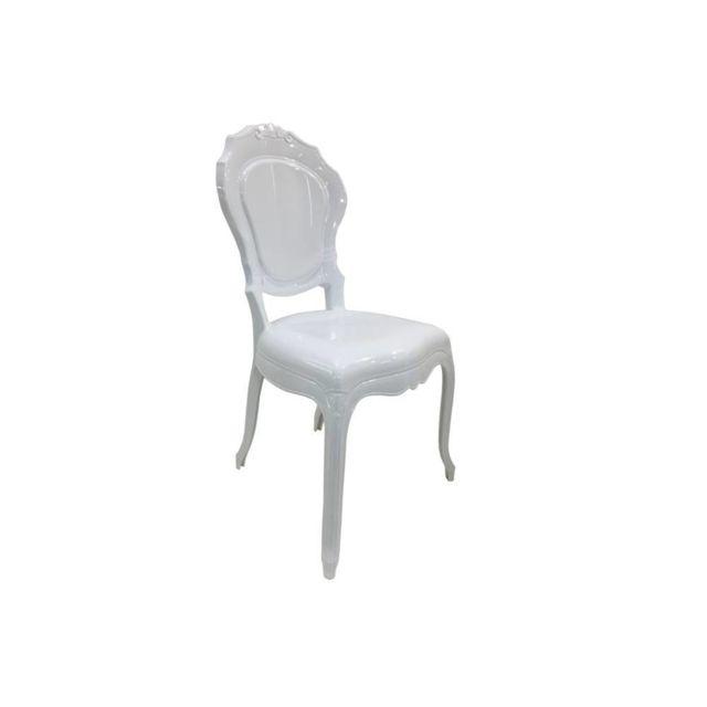 Inside 75 Chaise design Napoleon en polycarbonate opaque