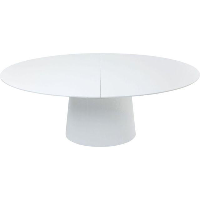Karedesign Table à rallonge Benvenuto blanche Kare Design