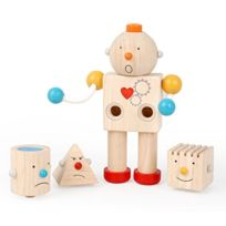 Plan Toys - Plantoys - Pt5183 - Jouet De Premier Age - Robot Transformateur