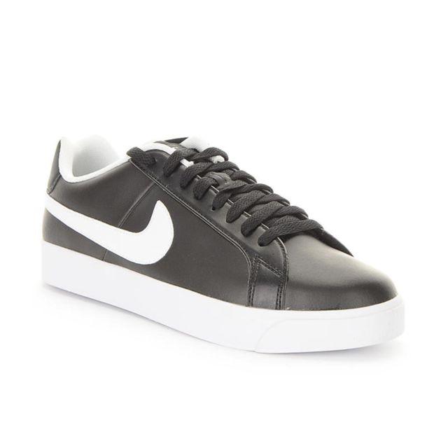 Nike Court Royale Lw Leather Noir pas cher Achat Vente