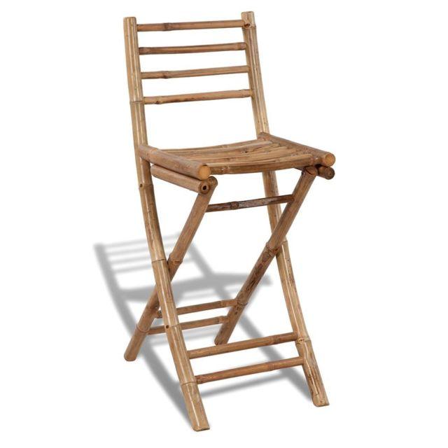 Icaverne - Ensembles de meubles d'extérieur ensemble Comptoir de bar 3 pcs Bambou