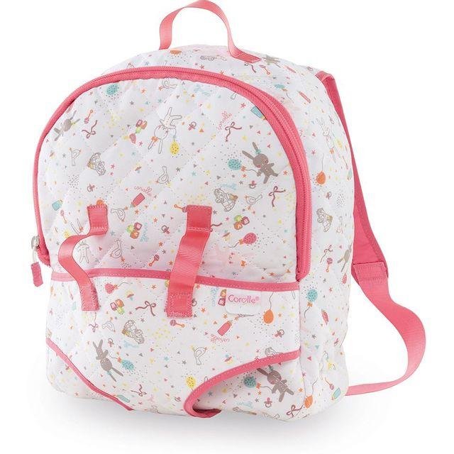 ff8a4f350034 Corolle - Mon premier sac à dos porte-bébé pour poupon 30 cm - Dmt32 ...