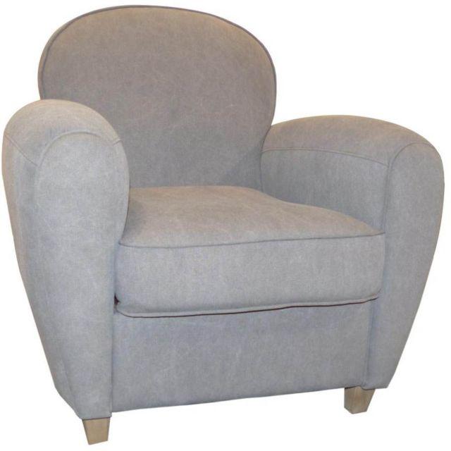cotton wood fauteuil club vintage grand classique pas. Black Bedroom Furniture Sets. Home Design Ideas