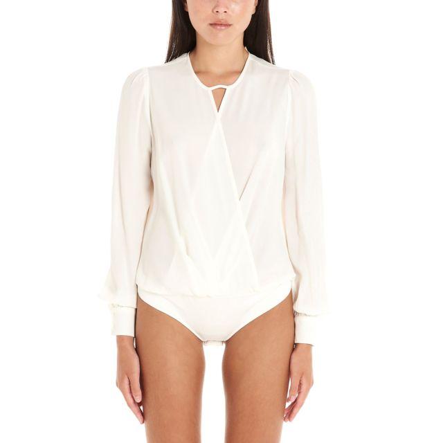 Twin-set Femme 201TP250400282 Blanc Viscose Body