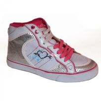 Lost Angels - Samples shoes Hi Top Doodle Heart Pink Women