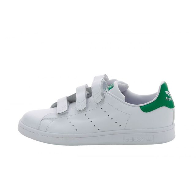 Adidas originals - Basket Stan Smith Cf J - S82702 Blanc ...