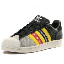 Adidas originals - Chaussures Superstar Ro Noir Gris Femme Adidas