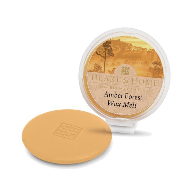Kontiki Galet pour brule parfum cire de soja Foret D'Ambre