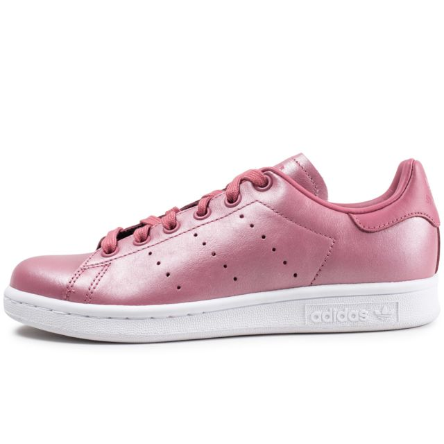 basket femme adidas stan smith rose
