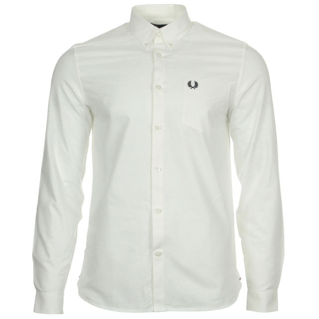 c4808ff229ea Fred Perry - Classic Oxford Shirt - pas cher Achat   Vente Chemise ...