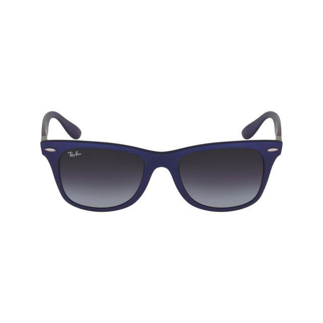 Ray-Ban - Ray Ban - Liteforce Rb4195 6015 8G Bleu mat - Lunettes de ... 220ee119d859