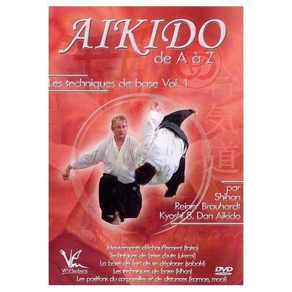 BQHL Editions Aikido de A à Z - Volume 1 : Les techniques de base