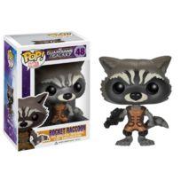 FunKo - Bobugt026 - Figurine CinÉMA - Guardians Of The Galaxy - Pop Bobble Head 48 Rocket Raccoon
