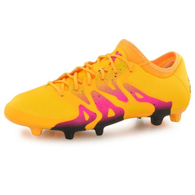 adidas Chaussures Football X15.2 FGAG: : Sports et