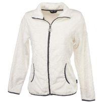 Sports Depot Selection - Vestes polaire Lauziere blanc lady Blanc 26457