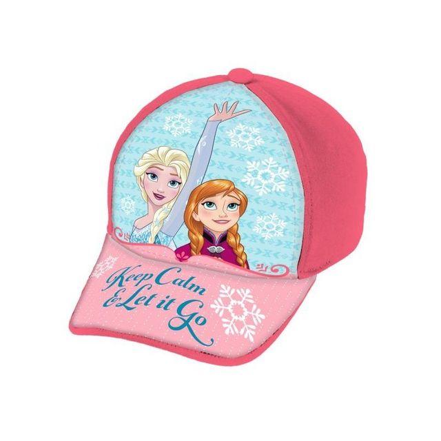 452a1f2da1c La Reine Des Neiges - Casquette enfant La Reine des Neiges Disney. Couleur    Bleu et rose