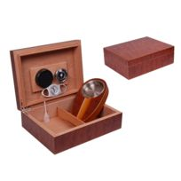 Ego Design - Cave a cigare 30 cigares loupe + 2 accessoires