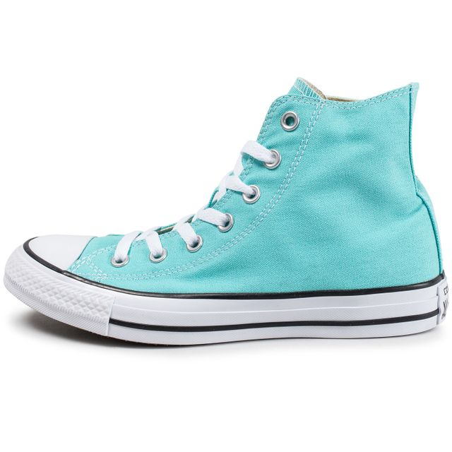 Basket et Tennis Converse Chuck Taylor All Star Hi turquoise