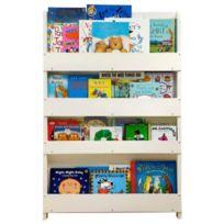 Tidy Books - Bibliothèque sans alphabet - Blanc Import Grande Bretagne
