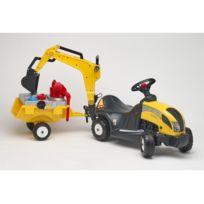 Véhicule Pour Enfant - Constructor Avec Remorque - 3055N