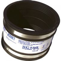 Flb - Raccord Easy joint sanitaire 120-137 mm Sc137