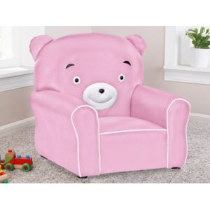 vente unique fauteuil pour enfant en simili calinou rose pas cher achat vente fauteuils. Black Bedroom Furniture Sets. Home Design Ideas