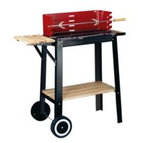 Garden Grill - Barbecue Bois Red Line Chariot