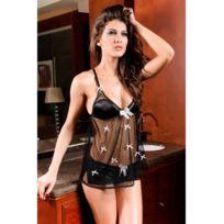 Fashion Mode 45 - Nuisette noir transparente Couleur - Noir, Taille - Taille unique 36 au 38