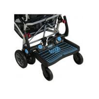 Lascal - Planche à roulettes pour poussette Buggy Board Maxi Noir / Bleu