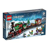 Lego - 10254-Le train des fêtes