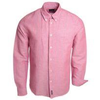 Mcgregor - Chemise rose Lenny Alexio pour homme
