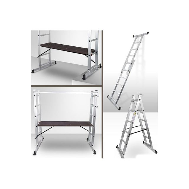 echafaudage en chelle tlescopique ou escabeau with echelle triple brico depot. Black Bedroom Furniture Sets. Home Design Ideas