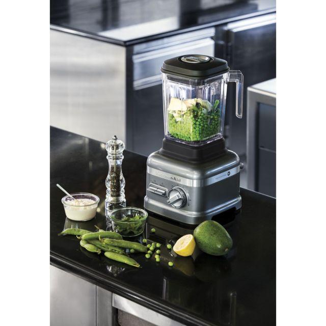 Kitchenaid blender mixeur électrique professionnel de 1,75L 1800W noir gris