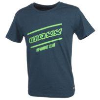 Waxx - Tee shirt manches courtes Infamus logo club Gris 77442