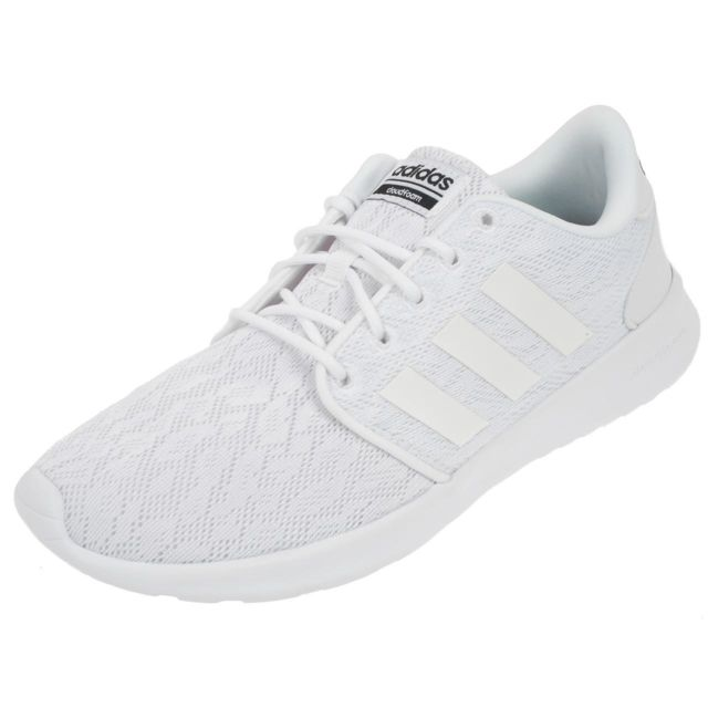 Adidas Neo Chaussures running mode Cf qt racer w Blanc