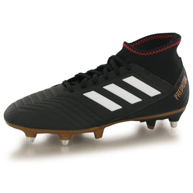 Adidas performance Predator 18.3 Sg noir, chaussures de