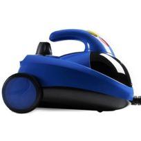 Klaiser - Nettoyeur Vapeur 1500W Haute Pression 4,5 Bar- Bleu - Multifonction- Complet avec de nombreux accessoires